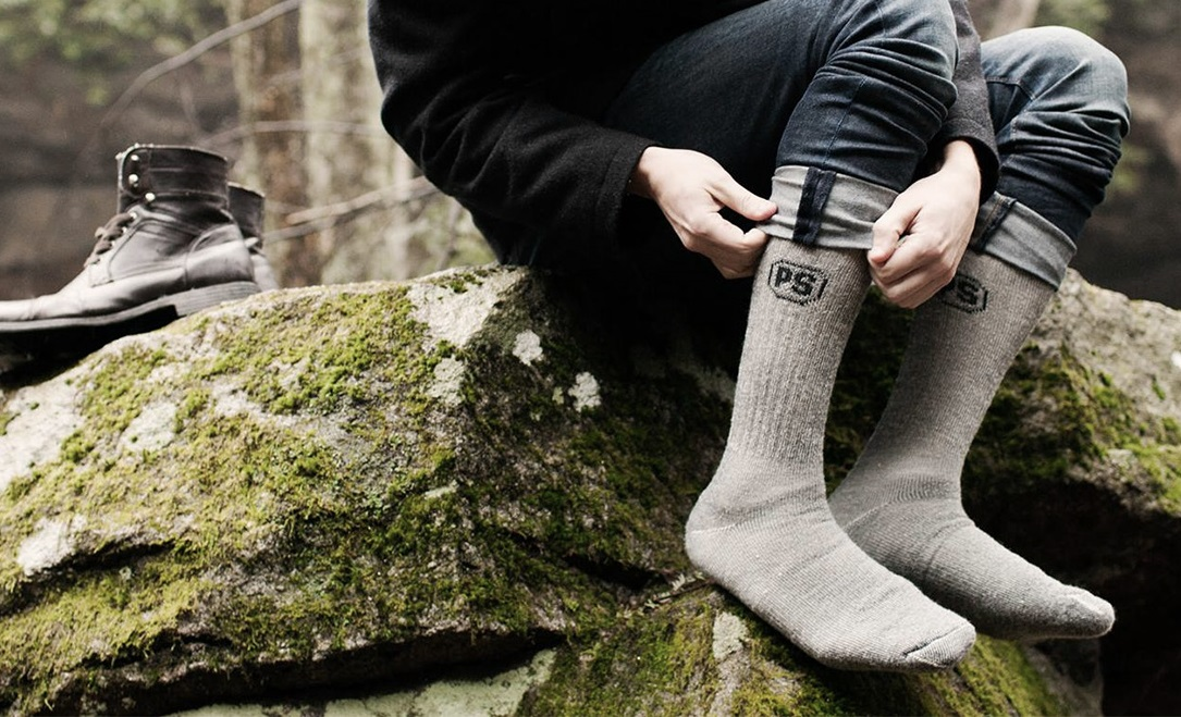 PEOPLE SOCKS Mens Womens Merino wool quarter socks 4 pairs 71/% premium with Arch support Made in USA